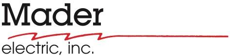 1mader electric inc. logo